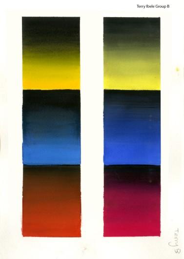 Colour Gradients to Black