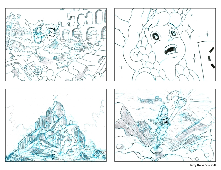 Sheridan Animation Portfolio Layout