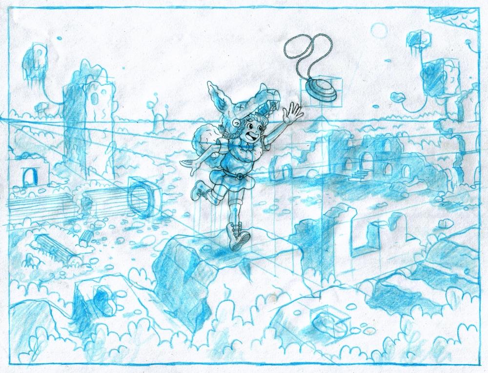 Sheridan Animation Portfolio Layout