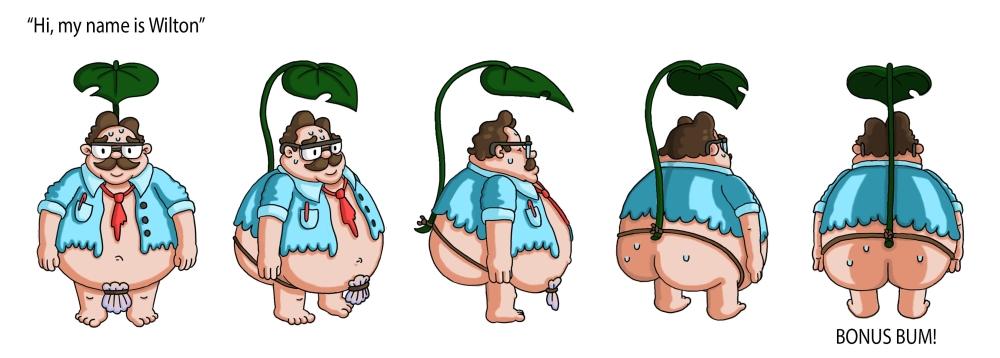 Sheridan Animation Student Character Rotation