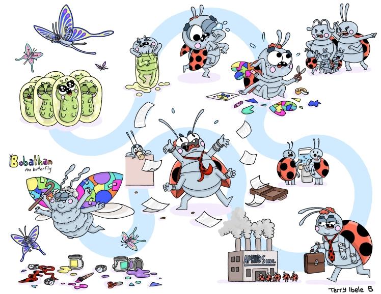 Sheridan Animation Character Timeline