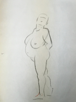 Sheridan Animation Life Drawing 1 minute