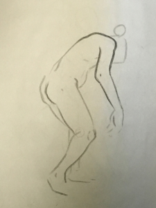 Sheridan Animation Life Drawing 1 minute