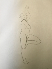 Sheridan Animation Life Drawing Year 1 Semester 2 - 1 Minute B