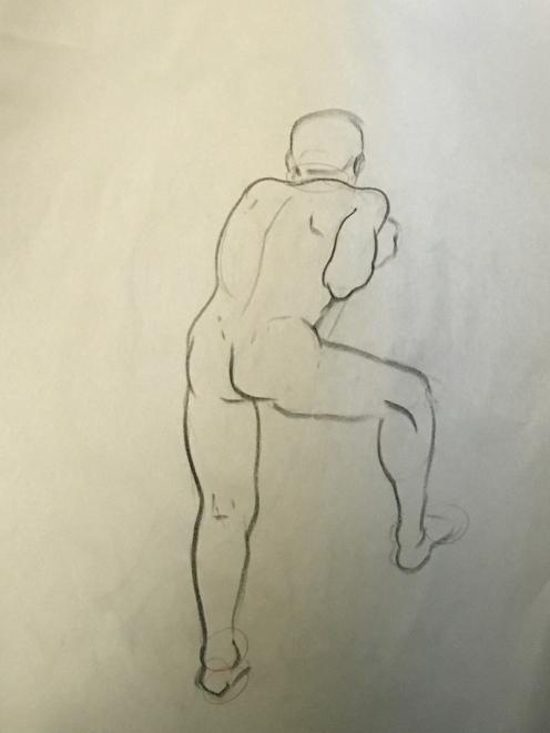 Sheridan Animation Life Drawing 3 minutes