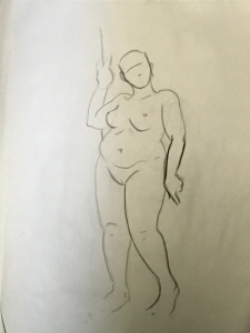 Sheridan Animation Life Drawing 3 minutes