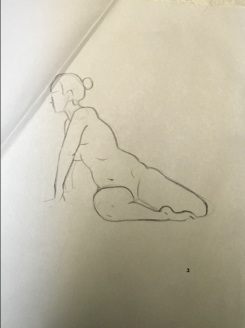 Sheridan Animation Life Drawing Year 1 Semester 2 - 3 Minutes B