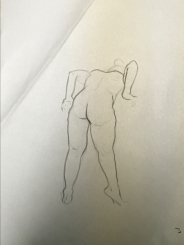 Sheridan Animation Life Drawing Year 1 Semester 2 - 3 Minutes B(1)