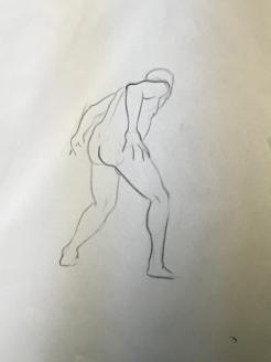 Sheridan Animation Life Drawing Year 1 Semester 2 - 3 Minutes B(2)