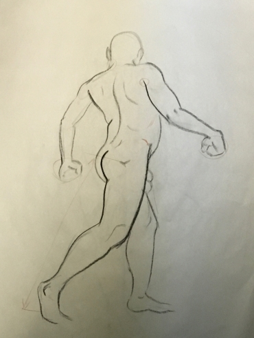 Sheridan Animation Life Drawing 5 minutes