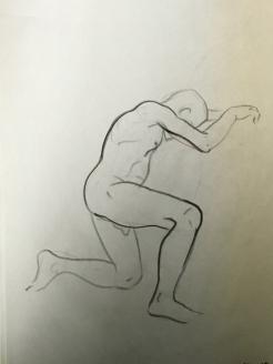 Sheridan Animation Life Drawing 5 minutes