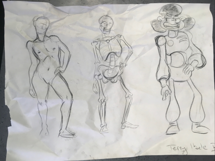 sheridan animation life drawing 3 figures