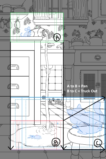 Sheridan College Layout Vector Vertical Pan and Truck